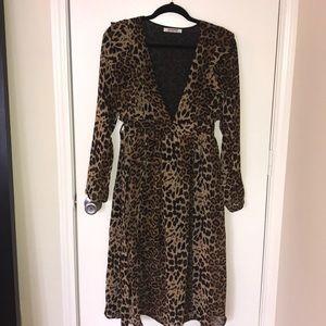 ASOS Leopard Dress, Size 6 (US)
